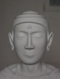 buddha_face_3_9_2008. von Roy Hinnen