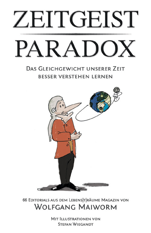 Zeitgeist Paradox Buchcover von Wolfgang Maiworm